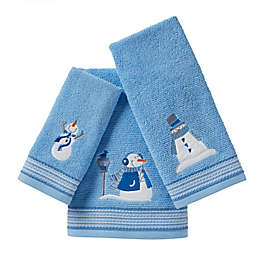 SKL Home Snow Buddies Bath Towel Collection