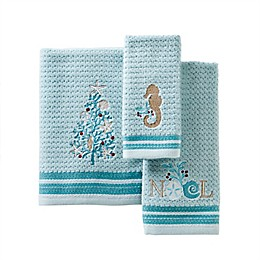 SKL Home Shellabrate Bath Towel and Accessories Collection