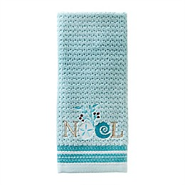 SKL Home Shellabrate Hand Towel in Teal