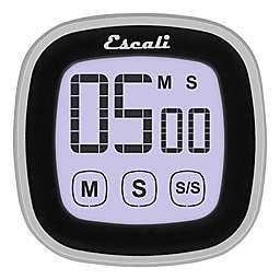 Escali® 3-Inch Touch Screen Digital Timer in Black