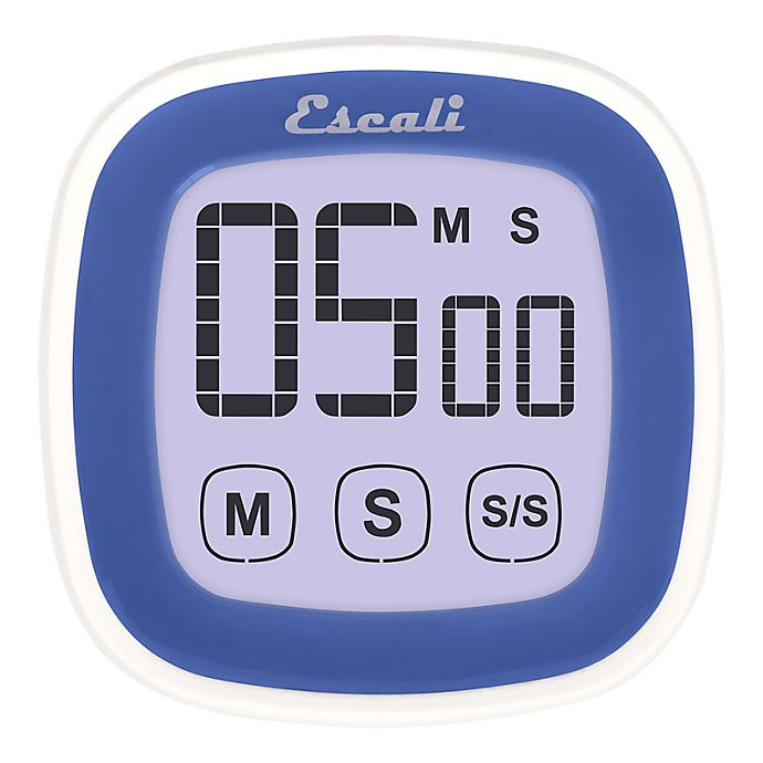 Alternate image 1 for Escali® 3-Inch Touch Screen Digital Timer