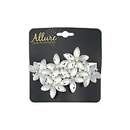 Allure Barrette in Crystal/Clear