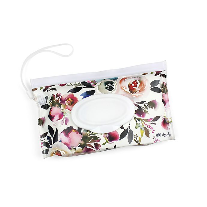 Alternate image 1 for Itzy Ritzy® Take & Travel Pouch in Floral