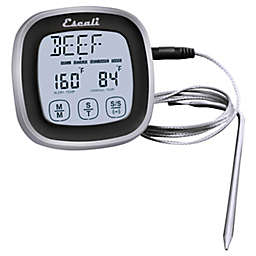 Escali® 3-Inch Touch Screen Thermometer and Timer in Black