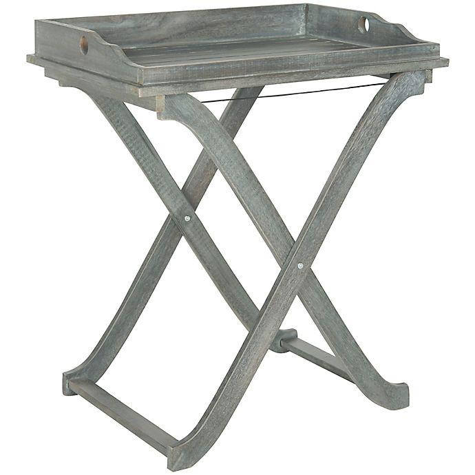 Alternate image 1 for Safavieh Covina Patio Tray Table