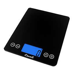Escali® Arti XL Glass Digital Kitchen Scale in Black