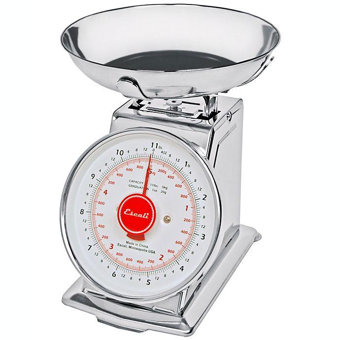 Alternate image 1 for Escali® Mercado Dial Kitchen Scale