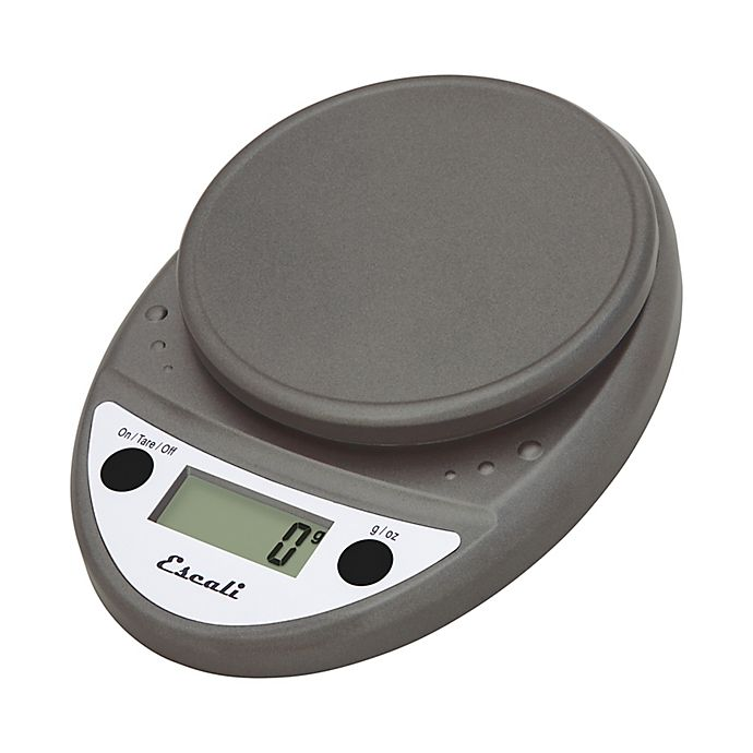 Alternate image 1 for Escali® Primo 11 lb. Digital Food Scale in Metallic