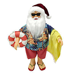 Coastal Santa 16-Inch Figurine