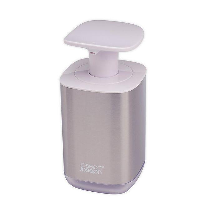 Alternate image 1 for Joseph Joseph® Presto Stainless Steel Soap Dispenser in White