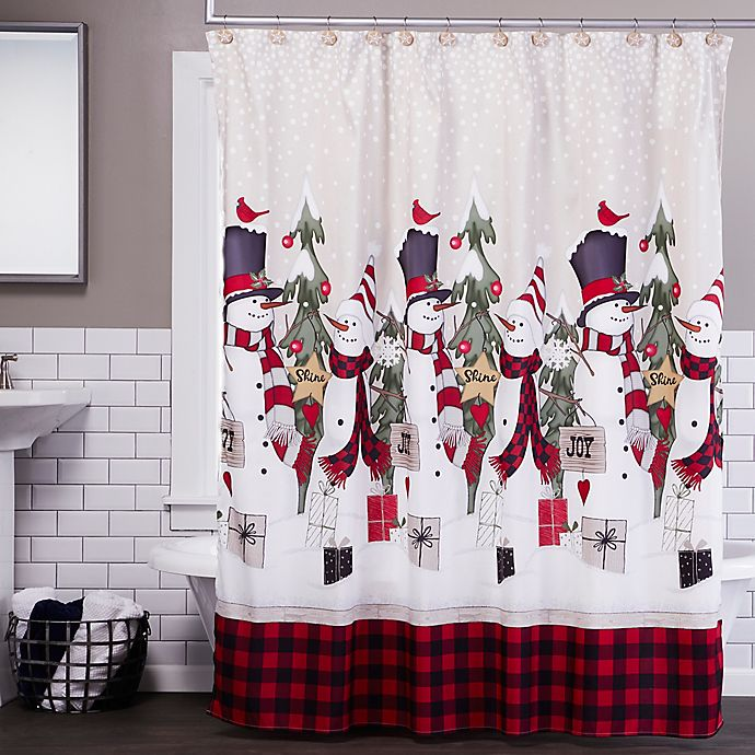 Alternate image 1 for SKL Home Winter Snow Friends Shower Curtain Collection