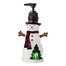 SKL Home Winter Snow Friends Soap Dispenser in Natural