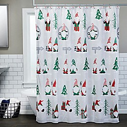 Gnome Home 72-Inch x 72-Inch Shower Curtain with Hooks