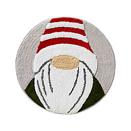 "Gnome Home 25"" Round Bath Rug"