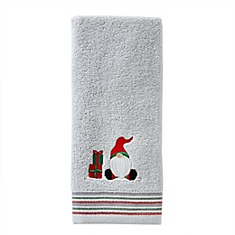 Gnome Home Hand Towel in Dove