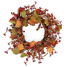 Boston International 19-Inch Autumn Impressions Wreath