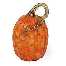 Boston International 6-Inch Bittersweet Harvest Pumpkin Decoration in Orange