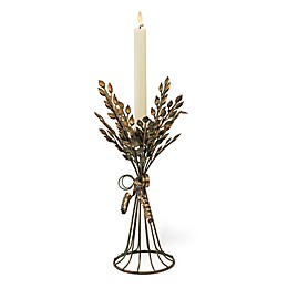 Boston International Aged Copper Candlestick