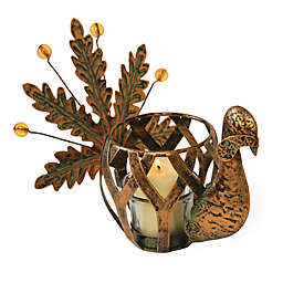 Boston International Aged Copper Turkey Tealight Holder