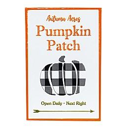 Boston International 18-Inch Pumpkin Patch Sign