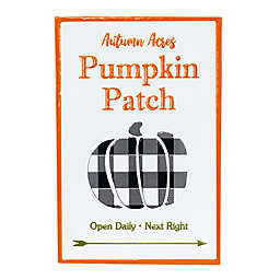 Boston International 18-Inch Pumpkin Patch Sign