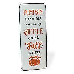 "Boston International 24-Inch Pumpkin ""Fall Is Here"" Decorative Sign"
