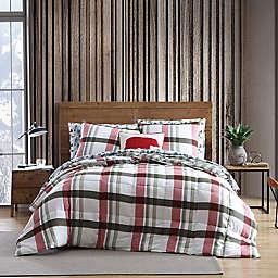 Eddie Bauer® Stanton Plaid Comforter Set in Red