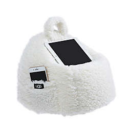 UGG® Classic Sherpa Mini Lap Pouf in Snow