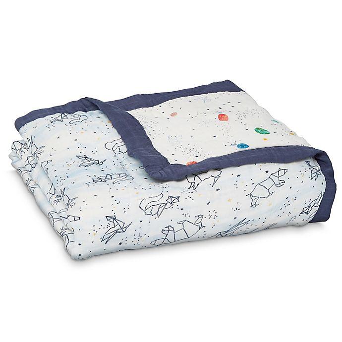 Alternate image 1 for aden + anais™ Stargaze Silky Soft Dream Blanket in Blue