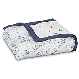 aden + anais™ Stargaze Silky Soft Dream Blanket in Blue