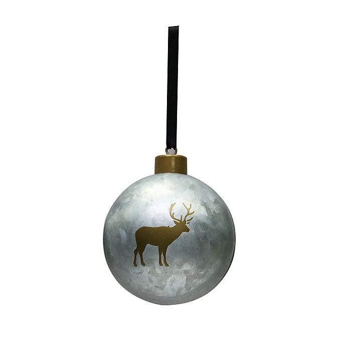 Alternate image 1 for Bee & Willow™ Home Assorted Ball Ornaments in Galvanized