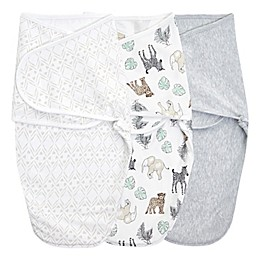 aden + anais™ essentials 3-Pack Wrap Swaddles