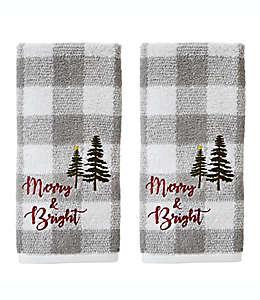 Toallas para manos Merry and Bright, Set de 2