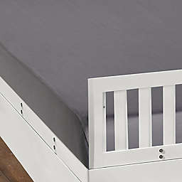 BEDGEAR DRI-TEC Fitted Crib Sheet in Steel