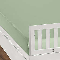 BEDGEAR DRI-TEC Fitted Crib Sheet in Sage