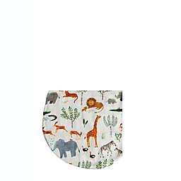 Loulou Lollipop Size 12-24 M Lightweight Muslin Sleep Bag in Safari Jungle