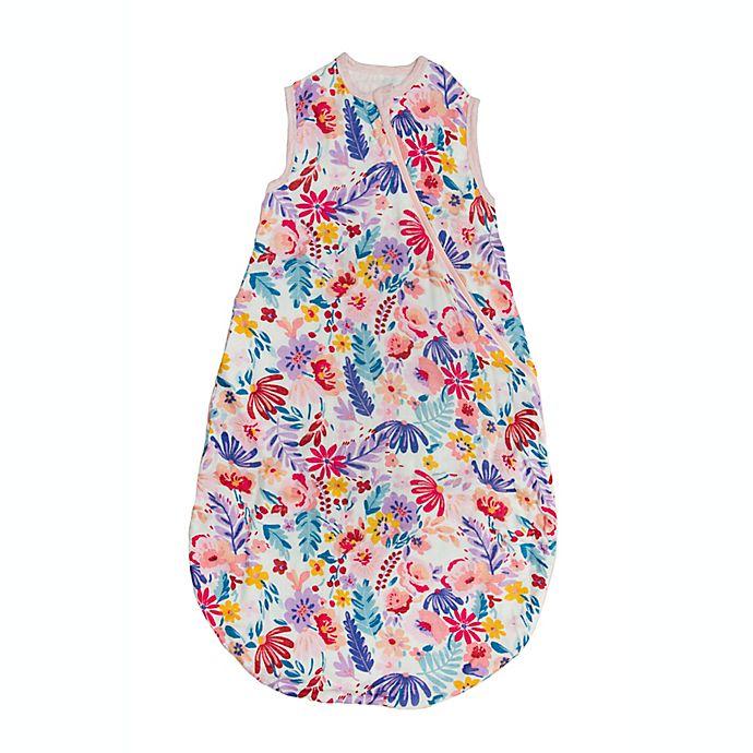 Alternate image 1 for Loulou Lollipop Light Field Flowers Sleeping Bag
