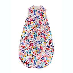 Loulou Lollipop Size 12-24 M Lightweight Muslin Sleep Bag in Light Field Flowers