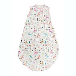 Loulou Lollipop Size 12-24 M Lightweight Muslin Sleep Bag in Unicorn Dream