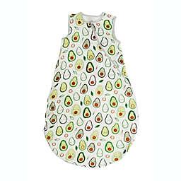 Loulou Lollipop Size 12-24 M Lightweight Muslin Sleep Bag in Avocado