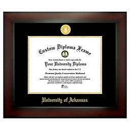 University of Arkansas 8.5-Inch x 11-Inch Medallion Diploma Frame