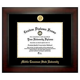 Middle Tennessee State University 8.5-Inch x 11-Inch Medallion Diploma Frame