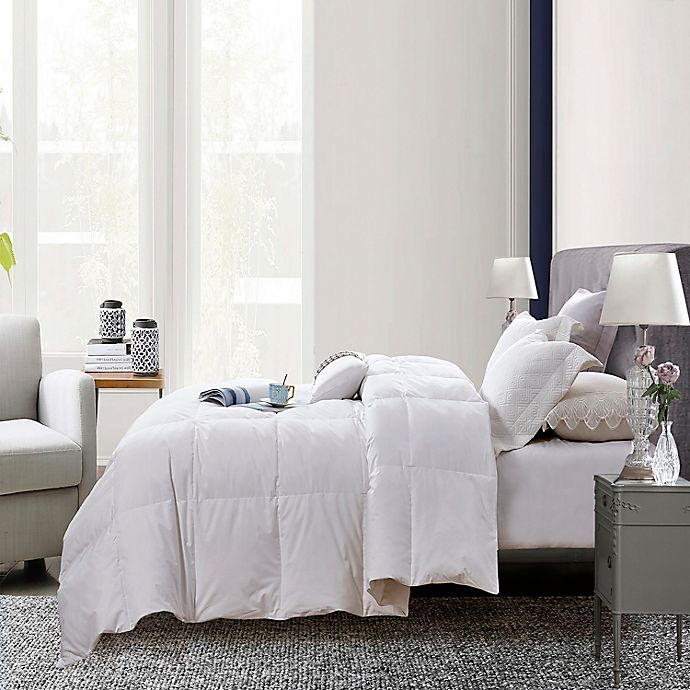 Alternate image 1 for Martha Stewart White Goose Feather and Down Comforter