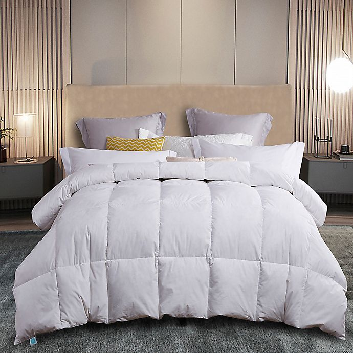 Alternate image 1 for Martha Stewart White Feather and Down Comforter