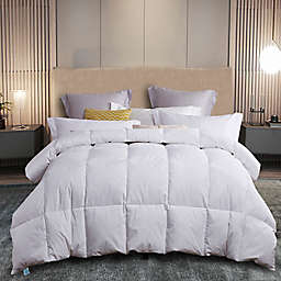 Martha Stewart White Feather and Down Full/Queen Comforter