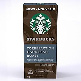 Starbucks® by Nespresso® Espresso Roast 10-Count Capsules