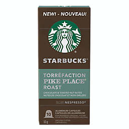 Starbucks® by Nespresso® Pike Place® Coffee 10-Count Capsules