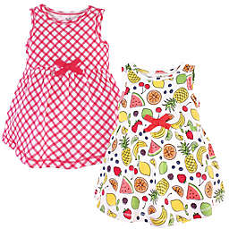 Touched by Nature® 2-Pack Fruit Sleeveless Organic Cotton Dresses