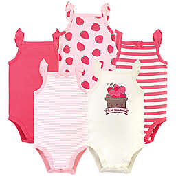 Touched by Nature Size 18-24M 5-Pack Berries Organic Cotton Bodysuits