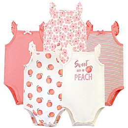 Touched by Nature 5-Pack Organic Cotton Bodysuits